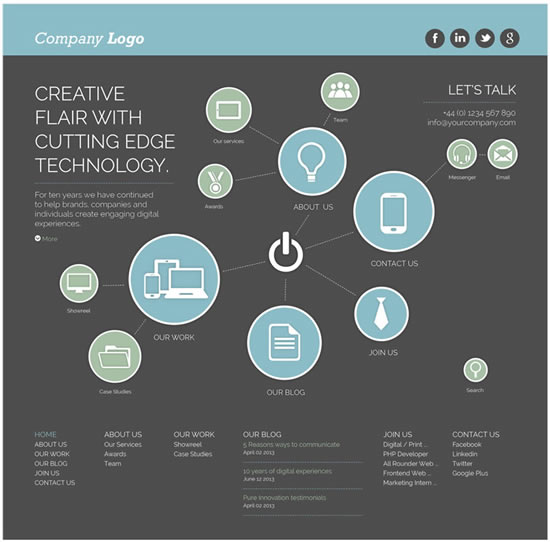 Switch Creative Web Theme